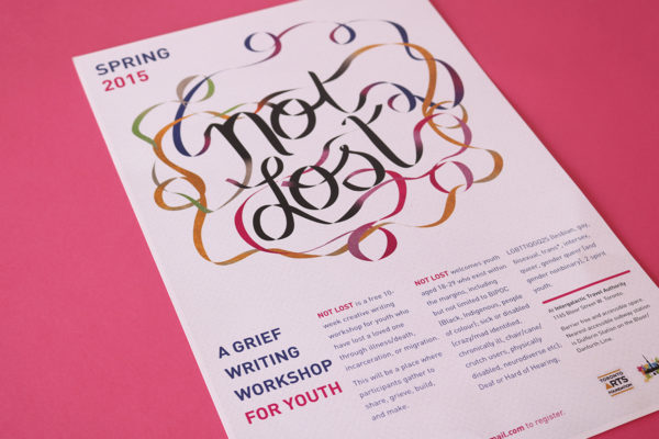 Not Lost: A Grief Writing Workshop for Youth