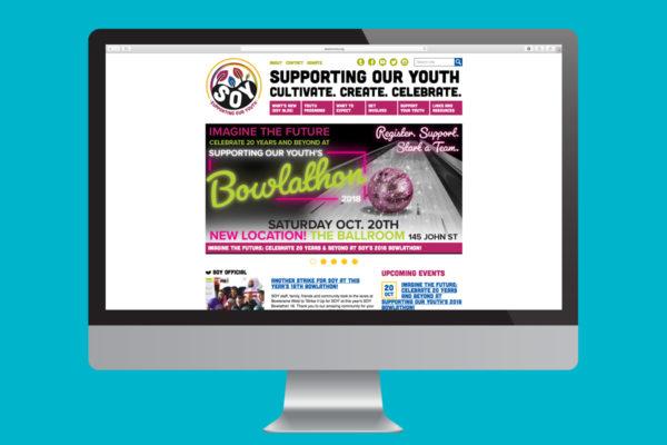 Soy01 Logowebsite Website Blue Screen
