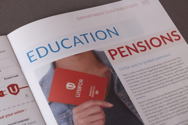 Uniforum Education and Pensions Close-up