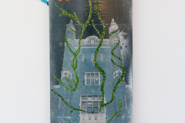 Land is Life Nature Reclaims Institutions Skateboard