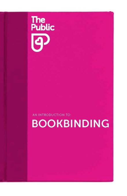 No3 An Introduction to Bookbinding